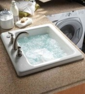 Jetted Sink for Delicates - Custom Laundry Room Wish List