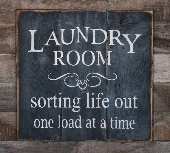 Laundry Room Quote Sign