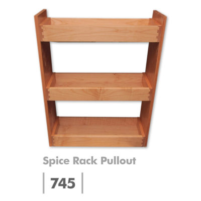 Spice Rack Pullout Cabinet Insert